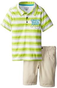 Calvin Klein Boys 2-7 Toddler Shorts by Calvin Klein
