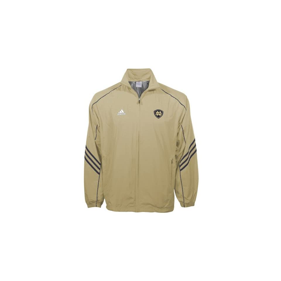 Adidas Notre Dame Fighting Irish Gold ClimaLite Jacket