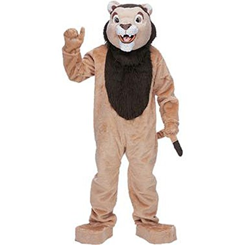 Adult Lion Mascot Complete Halloween Costume
