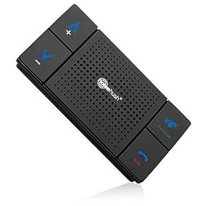 NoiseHush N600 Bluetooth Visor Kit - HandsFree SpeakerPhone With DSP Clarity