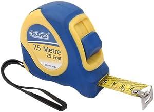 Draper DIY Series 09225 7.5 m/25-Foot Soft-Grip Metric/Imperial Tape Measure