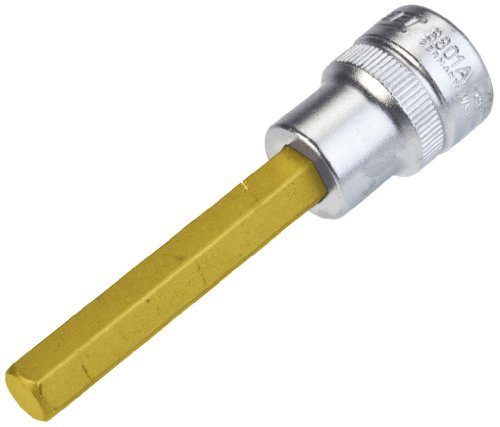 Hazet 8801A-5/16 Inserto Chiave a Bussola per Giraviti, Oro, Attacco Quadro, Cavo, 10 mm 3/8 di Pollice