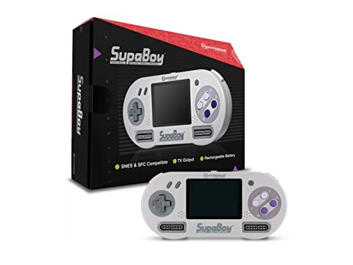 Hyperkin SUPABOY Portable Pocket SNES Console (Nes Emulator Console compare prices)