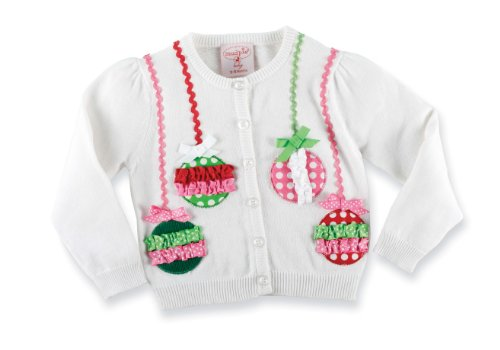 Mud Pie Baby-girls Infant Ornament Cardigan Picture