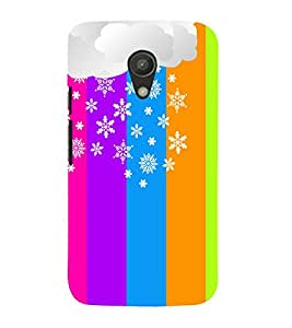 Rangoli Pattern Design 3D Hard Polycarbonate Designer Back Case Cover for Motorola Moto G2 X1068 :: Motorola Moto G (2nd Gen)