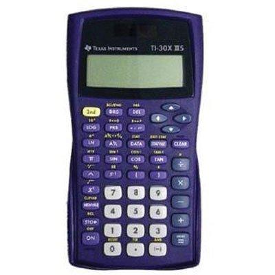 Texas Instruments 30XIIS/TBL/ILI/F Ti Scientific Calc-purple (Ti Scientific Calculator Purple compare prices)