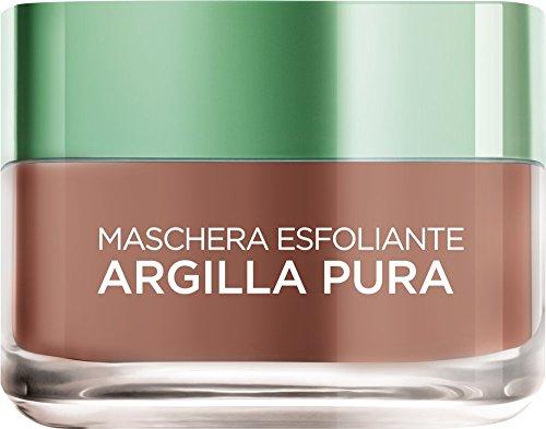L'Oréal Skin Expert Paris Maschera Esfoliante Argilla Pura, 50 ml