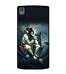 printtech Shiva Lord Weed Back Case Cover for OnePlus X