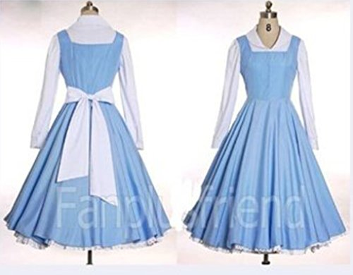 Sunkee Beauty and The Beast Belle cosplay costume (Email us your Size)