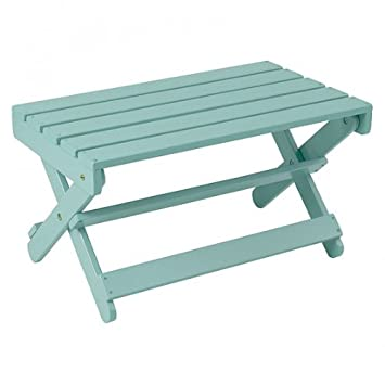 Manchester Wood Adirondack Coffee Table - Sky Blue