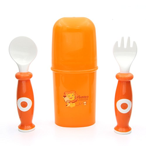 Simba Fork & Spoon Set With Case - 1