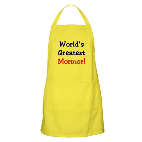 Cafepress World'S Greatest Mormor BBQ Apron - Standard