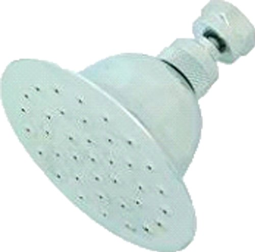 Aviditi 22998 Deluxe Brass Bell Shower Head with 4-Inch Face