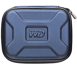 Western Digital Protective Carrying Case for My Passport Portable Hard Drives (Midnight Blue)