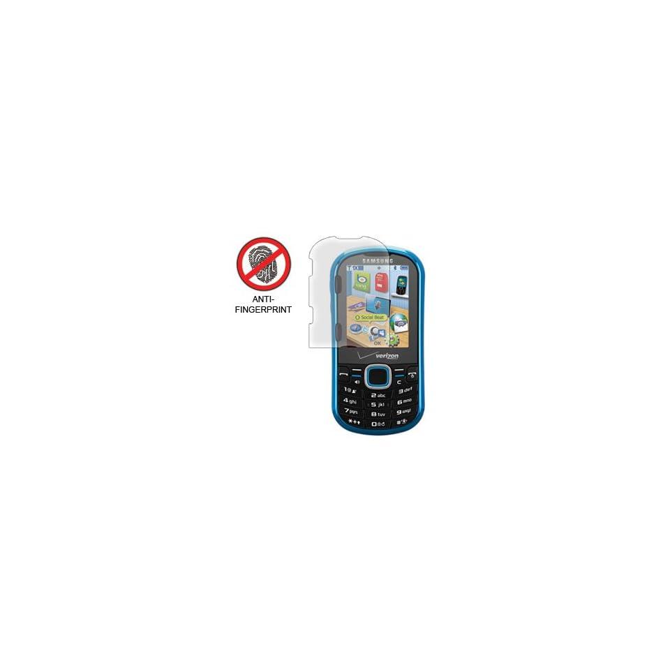 Anti Fingerprint Screen Protector for Samsung Intensity II Verizon