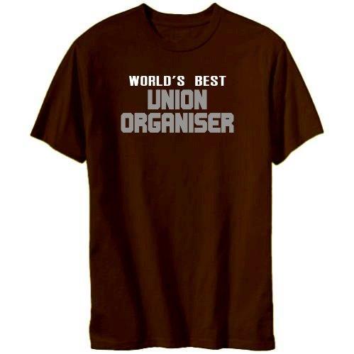 World's Best Union Organiser Mens T-shirt