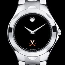 UVA Men's Movado Luno Sport with Steel Bracelet