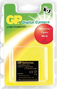 GP Batterie de type Canon NB-4L pour Appareil Photo Numérique Canon