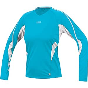 Gore Air Long Lady Shirt BLAU SAIRLW5701 Grösse: 38