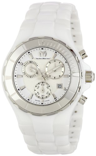 technomarine-womens-110030c-cruise-ceramic-chronograph-silver-tone-bezel-white-watch