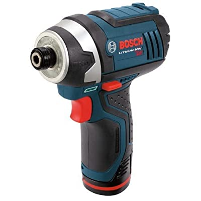 Bosch PS41-2A 12V Impact Driver with 2 Batteries,