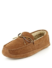 Luxury Suede Lace Moccasins