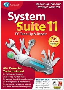 Popular Avanquest Usa Llc System Suite 11 Professional One-Click Pc Maintenance Active Intelligence