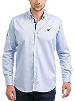 JACK WILLIAMS Camisa Hombre (Azul Claro)
