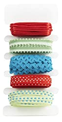 Martha Stewart Crafts Modern Festive Mixed Ribbons