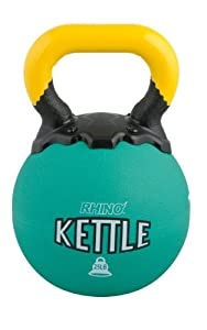 Buy Champion Sports Rhino Kettle Bell Weights, 25-Pound by Champion Sports