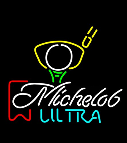 michelob-ultra-red-ribbon-pga-golf-neon-sign-neon-light-sign-handicrafted-real-glass-tube17x14