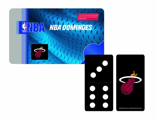 NBA Miami Heat Domino Set in Metal Gift Tin