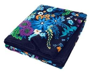 Vera Bradley Throw Blanket Midnight Blues New Spring 2013