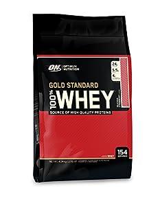 Optimum Nutrition Gold Standard 100% Whey Strawberry Protein Powder 4.54kg
