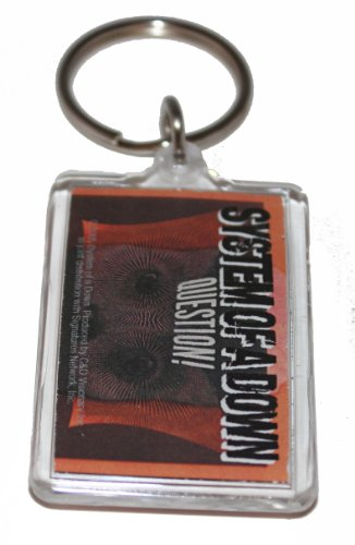 Licenses Products System of a Down Question Lucite Key Chain - 1