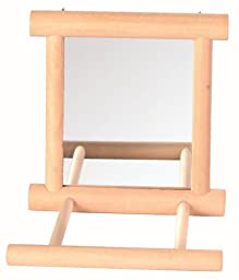 Trixie Wooden Bird Mirror With Perch (5861)