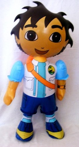 "Inflatable 24"" Go Diego Go Doll - 1"