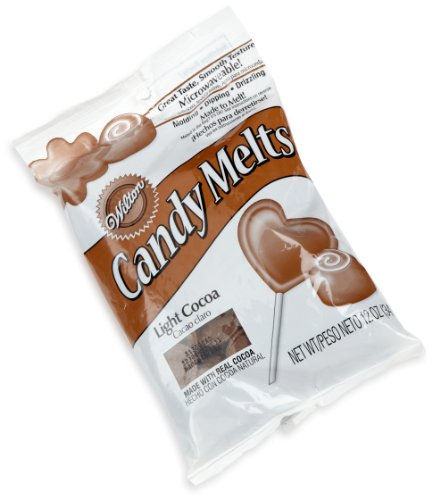 Wilton Light Candy Cocoa Melts, 12-Ounce (Candy Chocolate Melts compare prices)