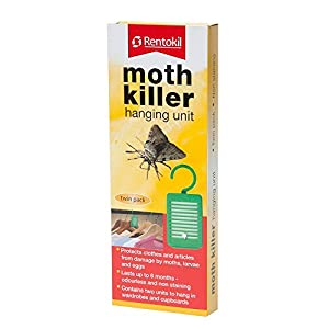 Moth Killer hanging unit Twin Pack by RENTOKIL