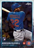 2015 Topps Chrome Baseball #24 Addison Russell Rookie Card - Near Mint to Mint