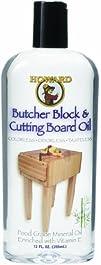 Howard BBB012 Cutting Board Oil, 12-O…
