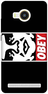 The Racoon Grip OBEY hard plastic printed back case / cover for Vivo X Shot