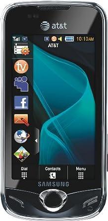Samsung Mythic, Black (AT&T)