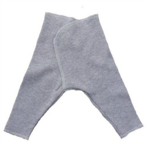 Solid Color Baby Pants - Lots Of Colors! (Newborn 0-3 Months To 12 Pounds, Heather Gray) front-1015643