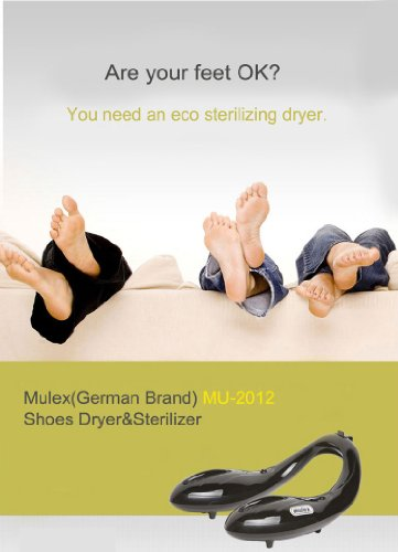 Mulex Shoes Dryer Sterilizer Sanitizer Electric Deodorizer German Brand Mu-2012