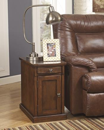 Power Chairside End Table