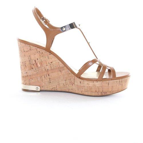 Marc Fisher Women'S Hannah Platform Sandals In Medium Brown Size 8.5 front-360578