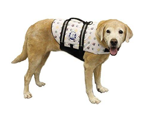 Artikelbild: Paws Aboard Doggy Life Jacket Large-Nautical Dog