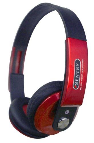Sentry Ho464 Little Boy Stereo Headphones, Red