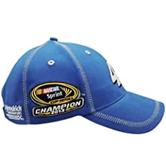 2013 Sprint Cup Champion Championship Hat Jimmie Johnson #48 Blue With White Accent... by Chase Authentics